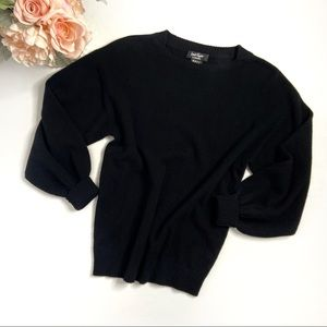 Lord & Taylor Black Cashmere Sweater